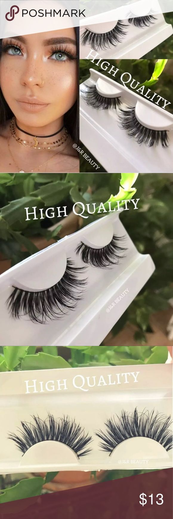 Mink lashes High quality +$2 Add on eyelash Applicator  +$3 Add on eyelash glue Please message me if you want to add them.  # tags  Iconic, mink, red cherry eyelashes, house of lashes, doll, kawaii, case, full, natural,  Koko, Ardell, wispies, Demi , makeup, Iconic, mink, red cherry eyelashes, house of lashes, doll, kawaii, case, full, natural,  Koko, Ardell, wispies, Demi , makeup, mascara, eyelash applicator, Mykonos Mink , Lashes , wispy ,eyelash case, mink lashes  Ship within 24 hours ❣️…