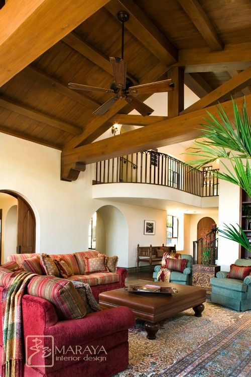 Image detail for -Santa Barbara Style Family Room Decorating for Luxury  Home, Santa .