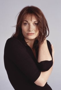 Sarah Parish - Just one of the actresses I've used as inspiration for the character of career-driven sports reporter Amber Sullivan in 'Striker'.