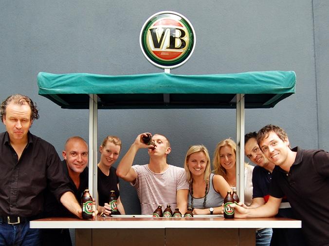 Victoria Bitter Pop Up Pub by e2.