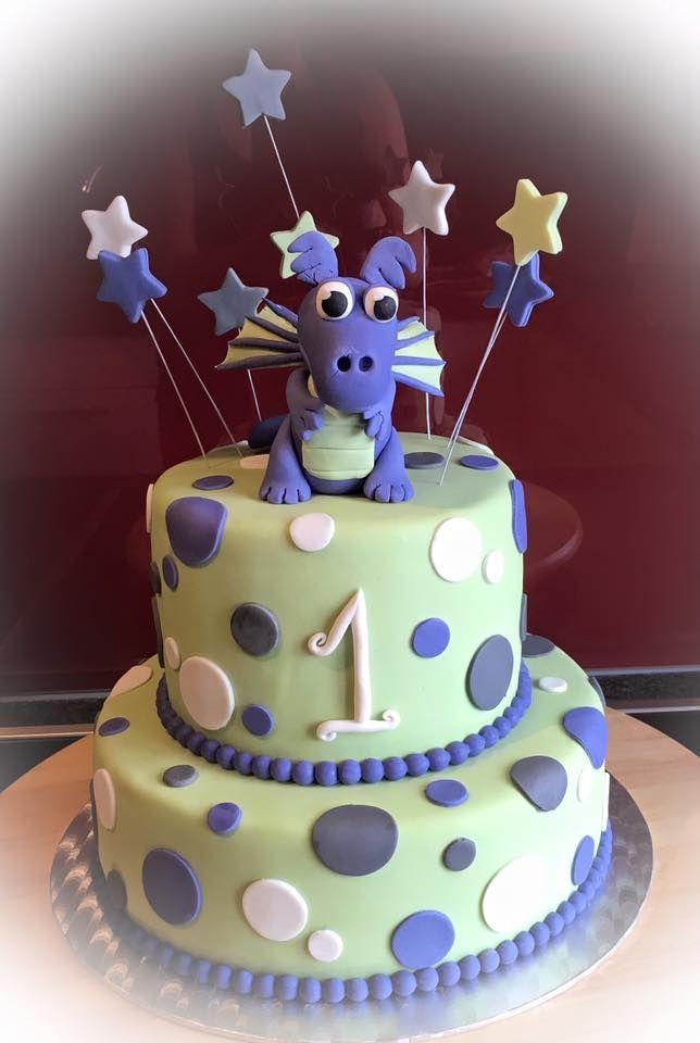 Torte Drachen Drachentorte 1. Geburtstag erster Geburtstag Drachentopper Dragoncake  Cake Dragon Dragontopper First Birthday