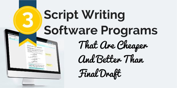 best free script writing software No adverts - no additional bundled software you don't want - just free, quality, writing software with an easy download and install.