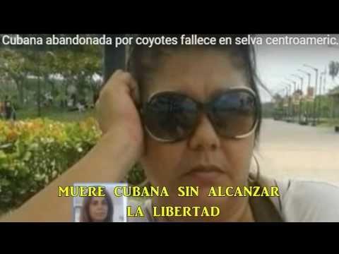 muere cubana sin alcanzar  la libertad.