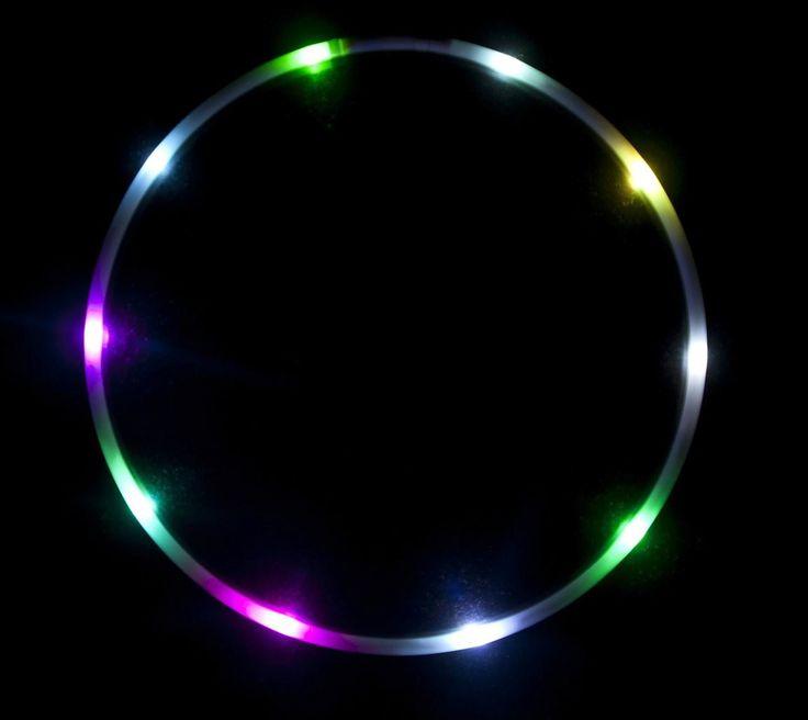 "36"" - The Ocho - Color Changing LED Hula Hoop - 10 Super Bright LEDS"