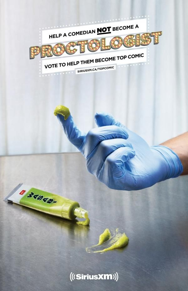Help a comedian, 3, SiriusXM Top Comic, Taxi 2 Toronto, Sirius, Печатная реклама, Наружная реклама, Креативная реклама