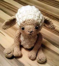 Süsses Schäfchen Kostenlose Pdf Häkelanleitung Crochet Baby