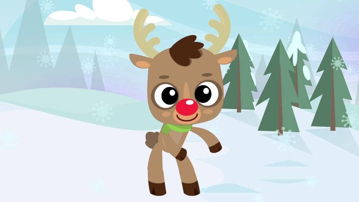 """It's the """"Reindeer Pokey!"""" Reindeer Pokey is a super fun Christmas version of the Hokey Pokey. Kids will have a great time dancing and singing along to the s..."""