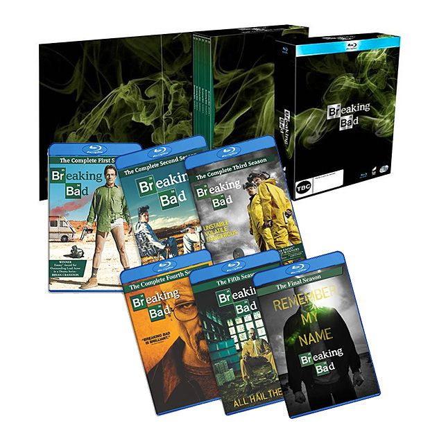 breaking bad the complete series box set blu ray at werd. Black Bedroom Furniture Sets. Home Design Ideas