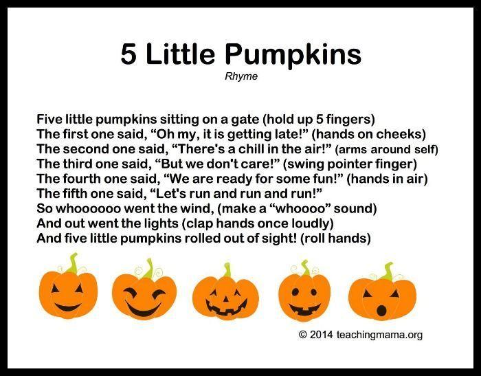 10 Autumn Songs for Preschoolers