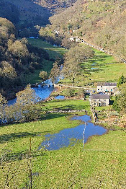 View From Monsal Head, Peak District, Derbyshire