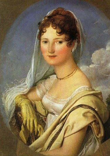 """Jean Auguste Dominique Ingres, """"Portrait of the Countess de La Rue""""  (Muguet de paris)"""