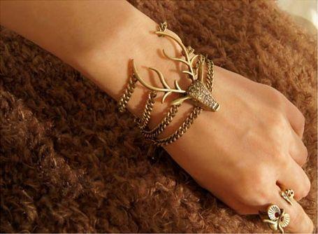 Christmas sunshine Animal pattern bracelet