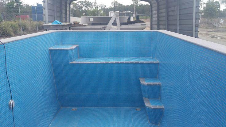 Rectangle Plunge Pool Step Seat Australian Plunge Pools