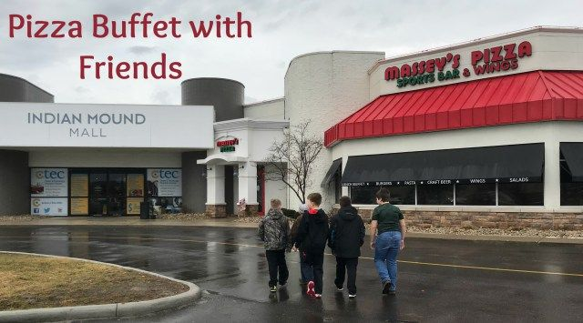 Thanks to Massey's Pizza for sponsoring this post and the opportunity to have a birthday party during their lunch buffet.  Plan a spring break trip with your favorite kiddos to their weekday buffet…