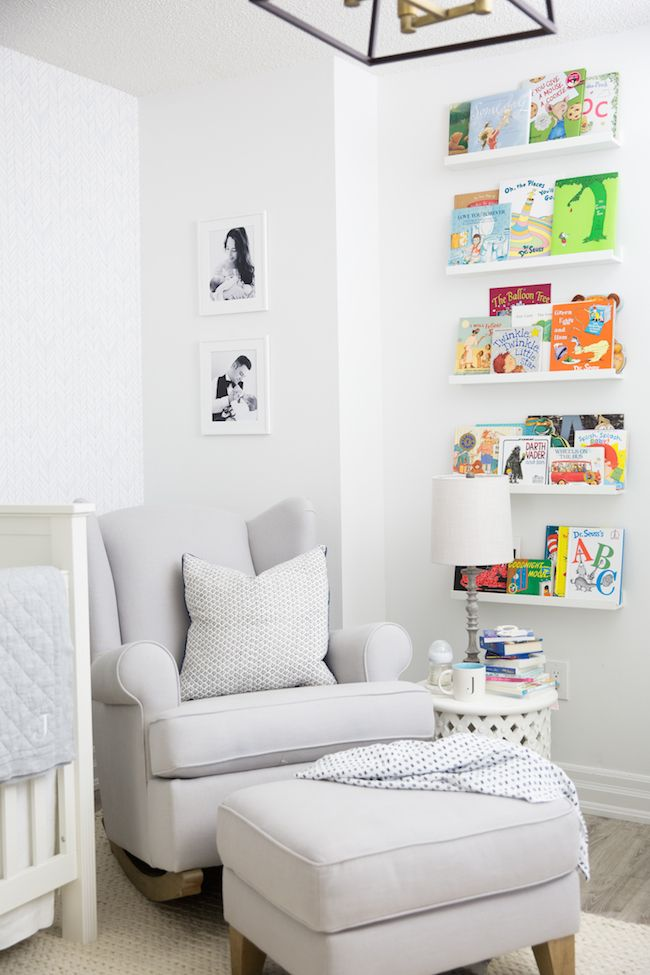 Sweet and simple nursery
