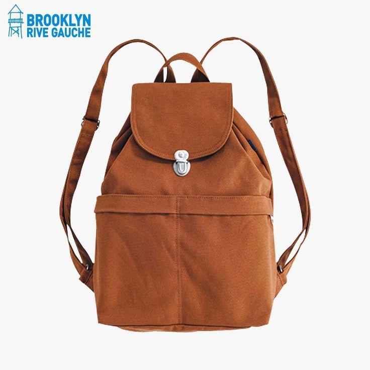 Sac à dos noisette - @BAGGU #LeBonMarche #BrooklynRiveGauche #brooklyn #newyork #ny #nyc #mode #fashion #accessoire #accessories #women #femme #men #homme