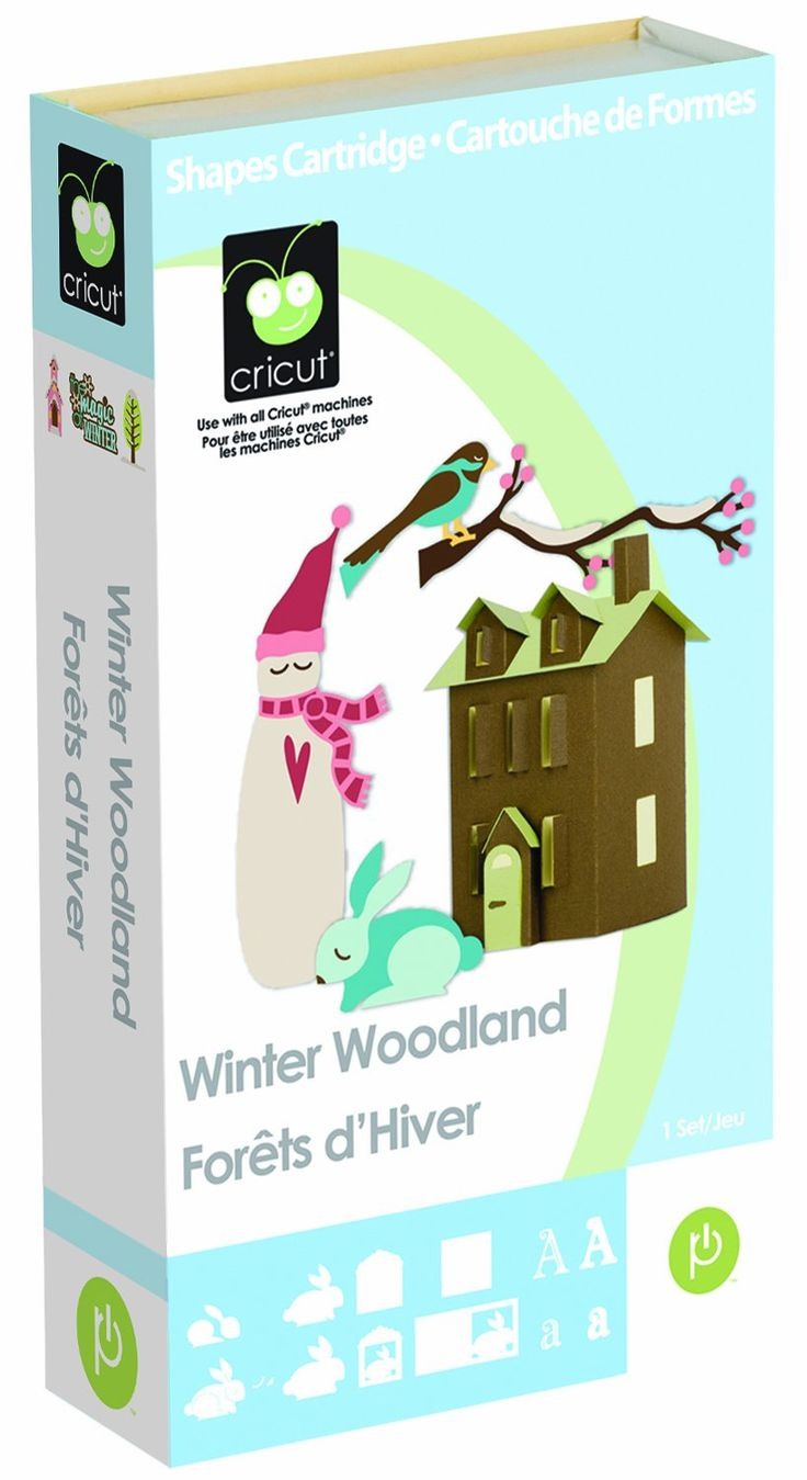 Cricut Cartridge, Winter Woodland   for me!