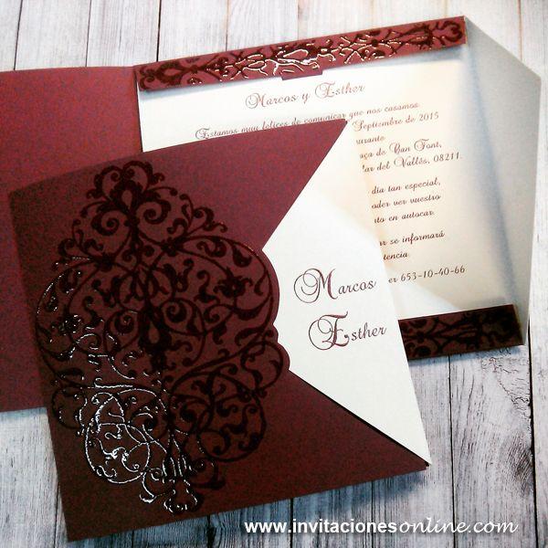 invitaciones boda · invitacions de casament · detalls · casaments · bodas barcelona · invitaciones arabescos · invitaciones clasicas · invitaciones de boda…