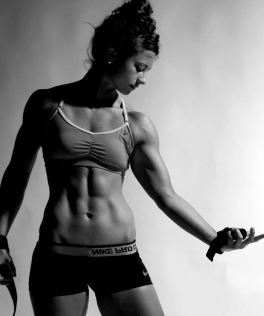 """My """"Fit Bitches"""" page is dedicated to all those woman out there that want the body of there dreams that are getting off there asses and are doing something about it!."""