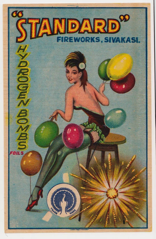 """Standard Fireworks """"Hydrogen Bombs"""" currently unavailable to the public."""