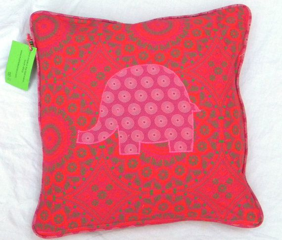 Pink Moroccan style cushion cover  Handmade  High by MathildeAndCo, £17.00