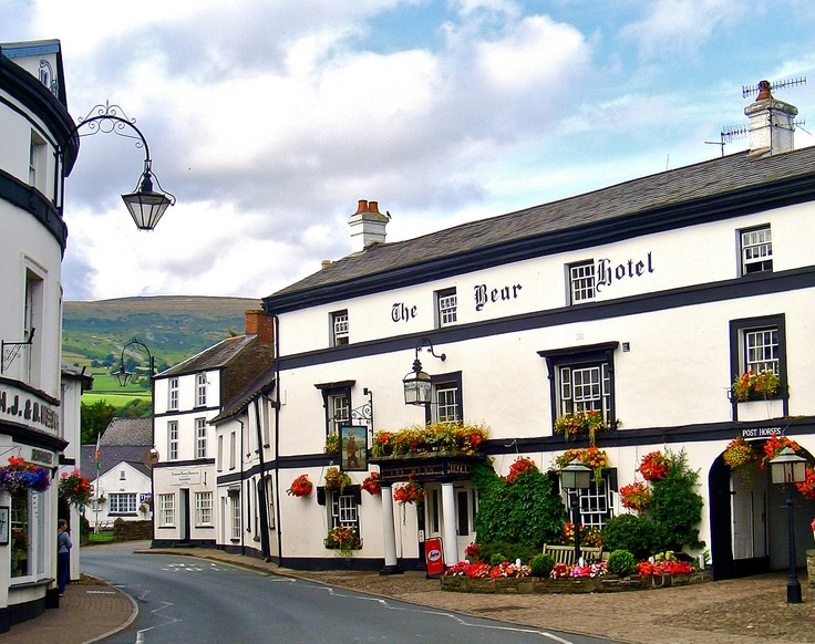 The Bear Hotel, Crickhowell (Crug Hywel), Wales