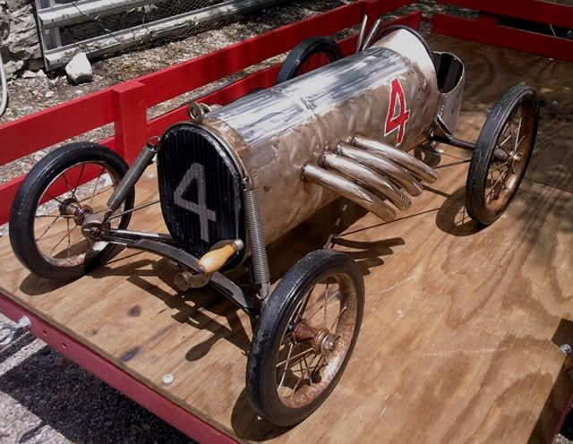 how to build a pedal powered go kart