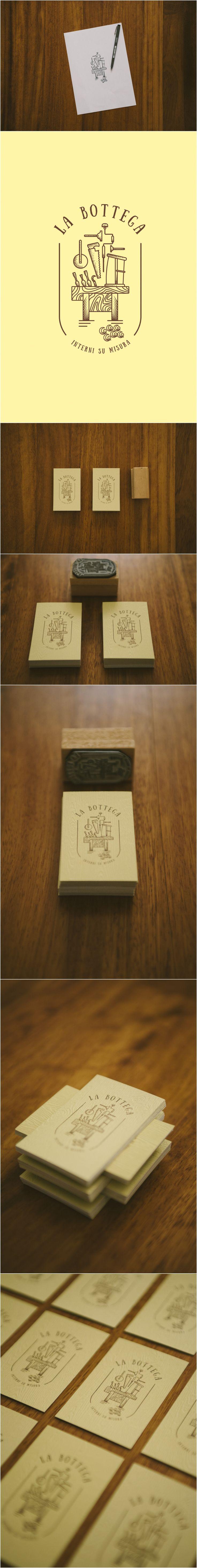 Brand identity and logo design wood inspired