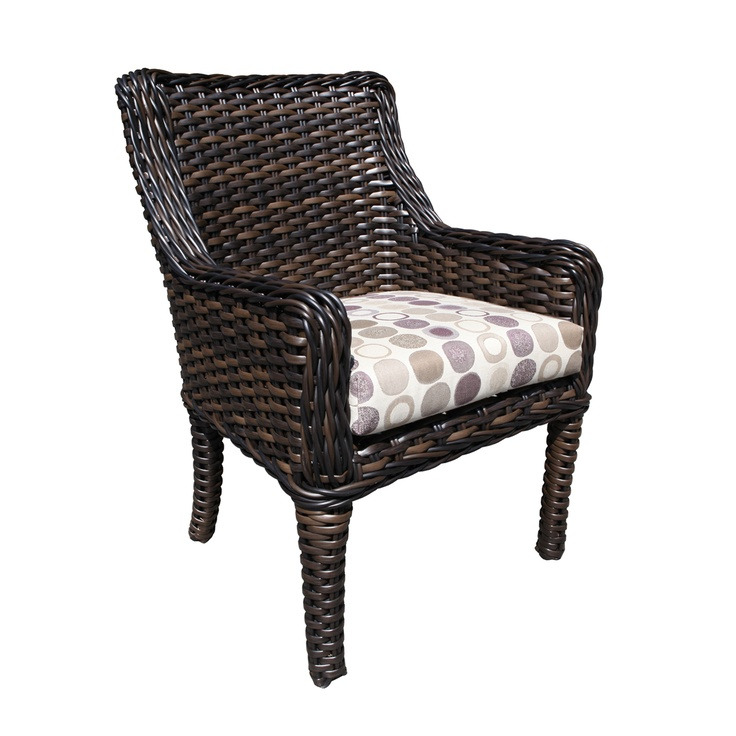 Outdoor Wicker Patio Furniture - Safari Arm Chair