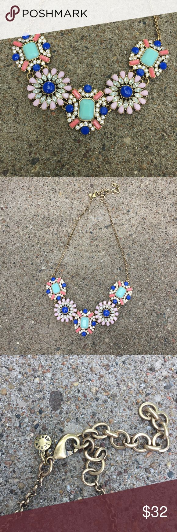J Crew Pastel Statement Necklace Gorgeous, colorful, and in perfect condition. Authentic J Crew. J. Crew Jewelry Necklaces
