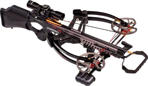 Barnett Vengeance Crossbow with 3x32mm Scope Package, 140-Pound Draw Weight, Carbon Black by Barnett. Barnett Vengeance Crossbow with 3x32mm Scope Package, 140-Pound Draw Weight, Carbon Black. 140-Pound.