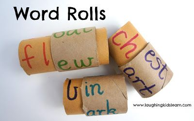Creating codex rolls for words and numbers. Making a Number Roll for Learning - Laughing Kids Learn
