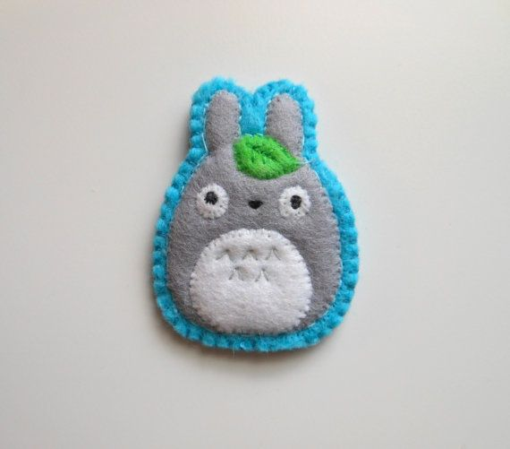 Etsy - Totoro Brooch