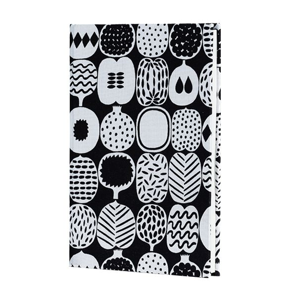 Matkoilla fabric notebook, A5, by Marimekko.