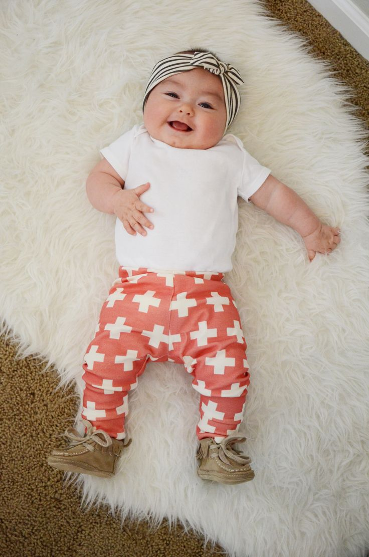 candy kirby designs | organic cotton plus three leggings in coral pink | Online Store Powered by Storenvy