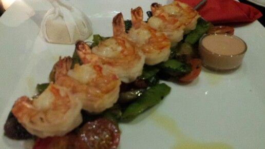 Fantastisk mat och service på La casa Argentina i Josefov