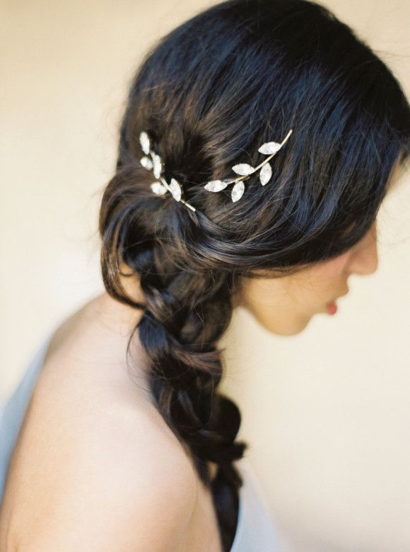 Bridal Hairstyle With Rose : 23 best wedding hair images on pinterest