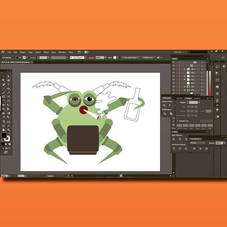 #acf  #illustrator #illustration #graphics #workinprogress #drawing #instaart #project #inspiration #draw #sketch #character #characterdesign #artwork #cute #artist #design #vector #illust #insect #acaro #animals #funny #art #oink #sketchbook #graphic #digitalart #creative #instaartist