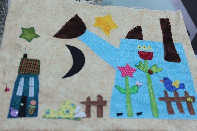 LABORES DE LILIANA: Colcha 2017 Zulú y Co. de Marian ZulúyCo Arguello-...