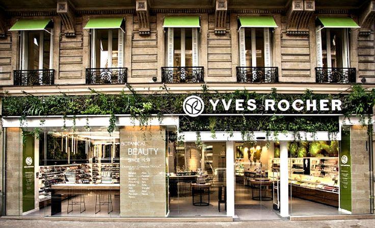 Yves Rocher creó un paraíso botánico en su Concept Store de París - http://bit.ly/1XofbDm