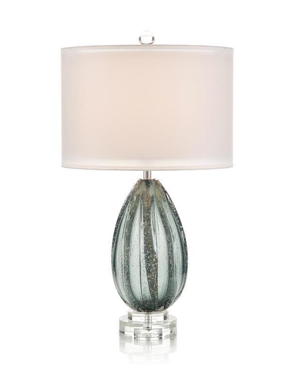 Rainstorm Blue Glass Table Lampdefault Title In 2021 Glass Table Lamp Lamp Table Lamp
