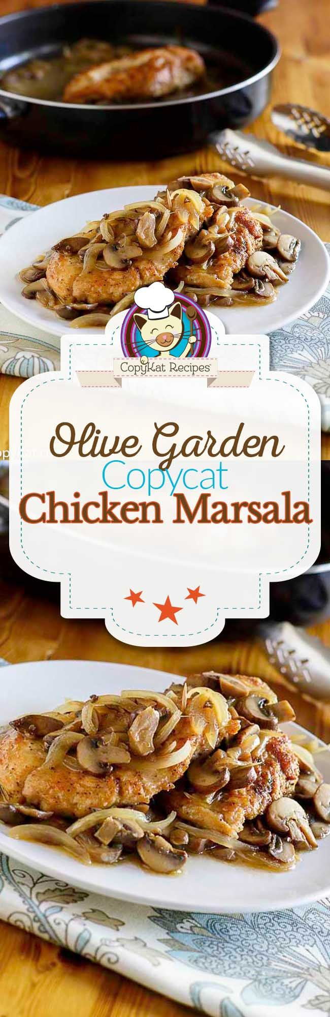 25 B Sta Chicken Marsala Creamy Id Erna P Pinterest