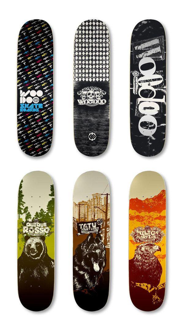 Skateboard Deck Designs Art Ilike Skateboard