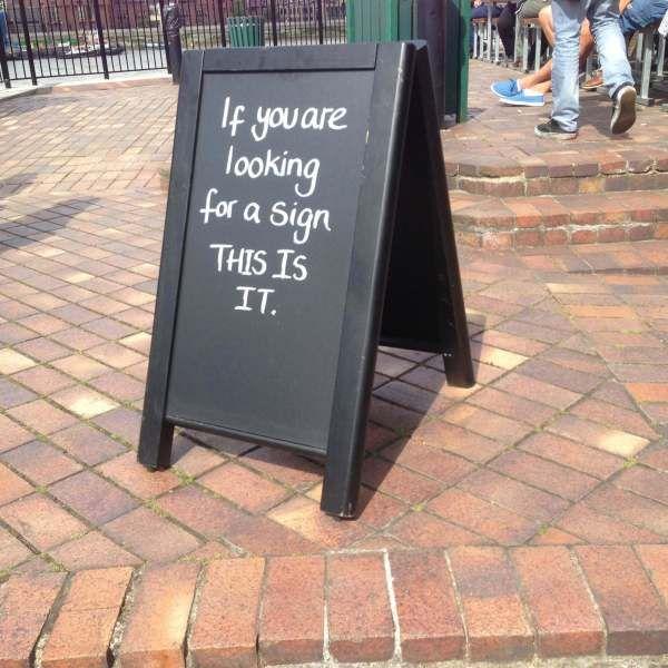 Funny Bar Signs London