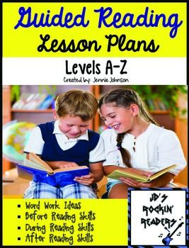 This is a BUNDLED product.  Please do not purchase this product if you own either of the two below. It includes:  Guided Reading Lesson Plans Levels A-N  Guided Reading Lesson Plans (O-Z)    These guided reading lesson plans include all of the skills that students need to learn at each text level A-Z (Fountas and Pinnell).