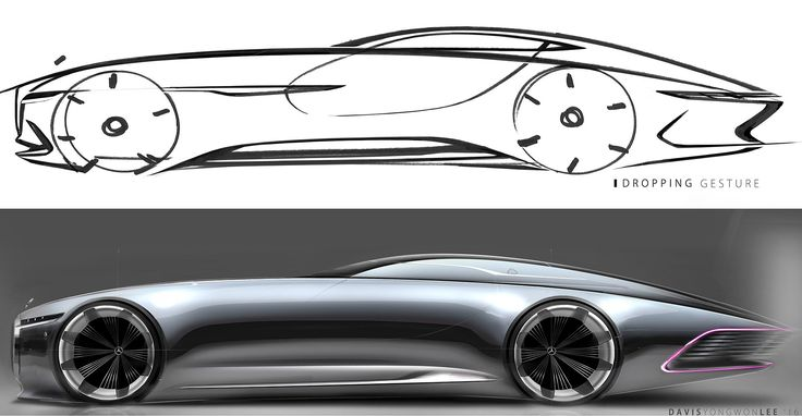 Vision Mercedes-Maybach 6 is a six-meter-long electric super-coupe - Car Body Design