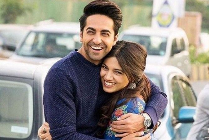 Ayushmann Khurrana reveals Bhumi Pednekar is a pro at dating, can't go without sex for more than 'one hour'.  #AyushmanKhurana #BhumiPednekar