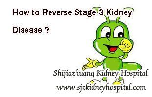 How to reverse stage 3 kidney disease ? We all know that kidney disease has five stages and stage 3 is said to be the critical stage, if patient can take fit treatment in this stage or before this stage they may get a chance to reverse their disease.
