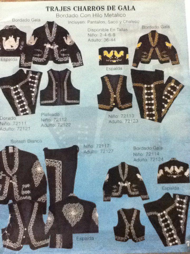 Disco Azteca - Sacramento, CA, United States. Mariachi suits, hats, bows and other accessories. Traje de charros, sombreros, corvatines y otros accesorios.                                                                                                                                                                                 More