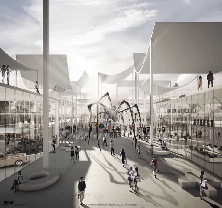 TEAM730 Designs a Multifunctional Street for China's MOLEWA Competition